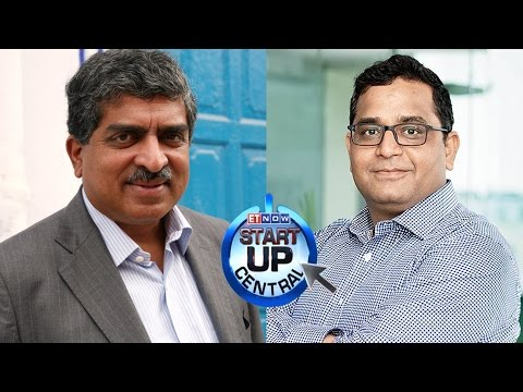 Paytm Founder Vijay Shekhar Sharma & Nandan Nilekani on Start Up Central | Interview