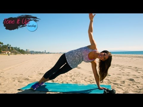 Holiday Cocktail Dress Arm Routine With Karena! | Tone It Up Tuesdays