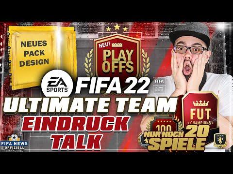 FIFA22 ULTIMATE TEAM Eindrücke mit neuem Champions System, Packs & mehr.
