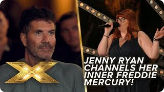 The Chase's Jenny Ryan channels her inner Freddie Mercury | X Factor: Celebrity