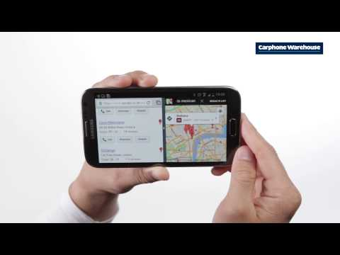 Samsung Galaxy Note 2 - How do I use split screen multitasking