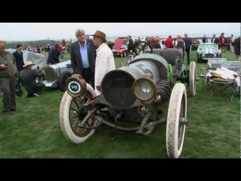 Pebble Beach 2012: 1911 Franklin Model D Race Car - Jay Leno's Garage