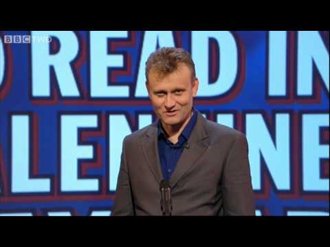 Unlikely Things to Read in a Valentine's Card - Mock the Week - BBC Two