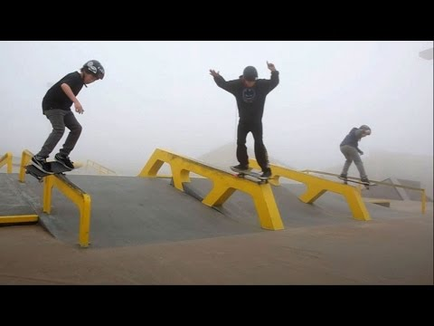 Woodward West Skateboarding at Winter Camp 2014