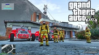 GTA 5 MODS - Firefighter Mod (Mode Sapeurs-Pompiers) 1.6R - EP 2 - FASTEST FIRE TRUCK