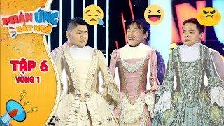 Phản ứng bất ngờ|Tập 6 Vòng 1: Chị Cano, Quốc Khánh siêu bất ngờ với thử thách Vòng eo con kiến