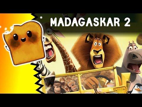 Gry Dla Dzieci | Madagaskar 2 - Pingwiny Z Madagaskaru I Małpki