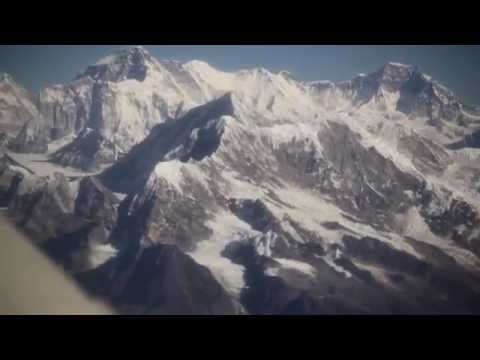 Everest Mountain Flight Buddha Air Nepal HD 1080p from Kathmandu