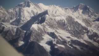 Everest Mountain Flight Buddha Air Nepal HD 1080p from Kathmandu Canon 5D Mark II