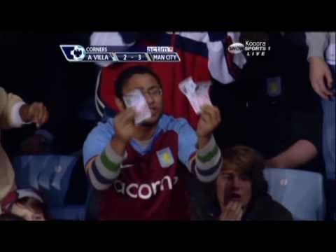 Aston Villa fans angry at Gareth Barry