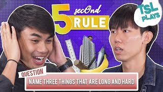 TSL Plays: 5-Second Rule