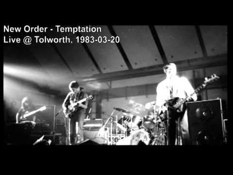 New Order - Temptation (Live @ Tolworth)