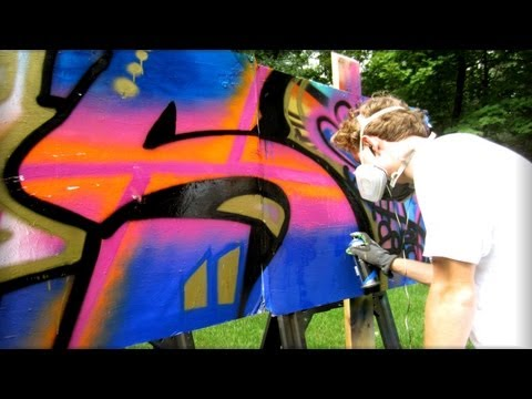 Liquitex Spray Paint Review - First Impressions -