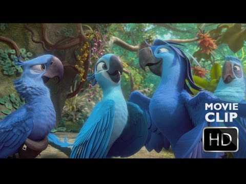 Rio2- Beautiful Creatures Clip - 20th Century FOX HD