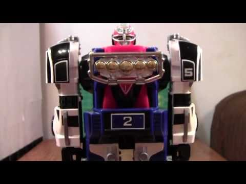 Power Rangers Turbo Megazord Review (gekisou sentai carranger)