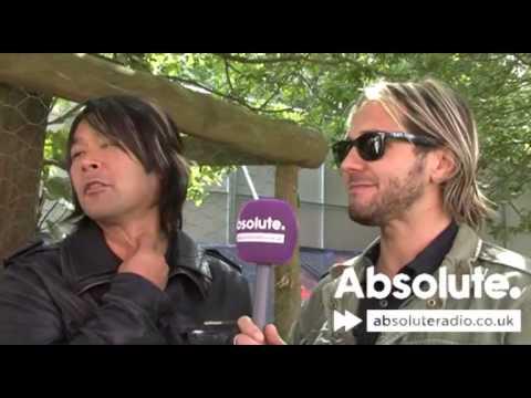 Feeder interview at Sonisphere festival 2009