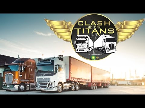 Kenworth vs Volvo Part One | Clash of the Titans | Truck TV Australia