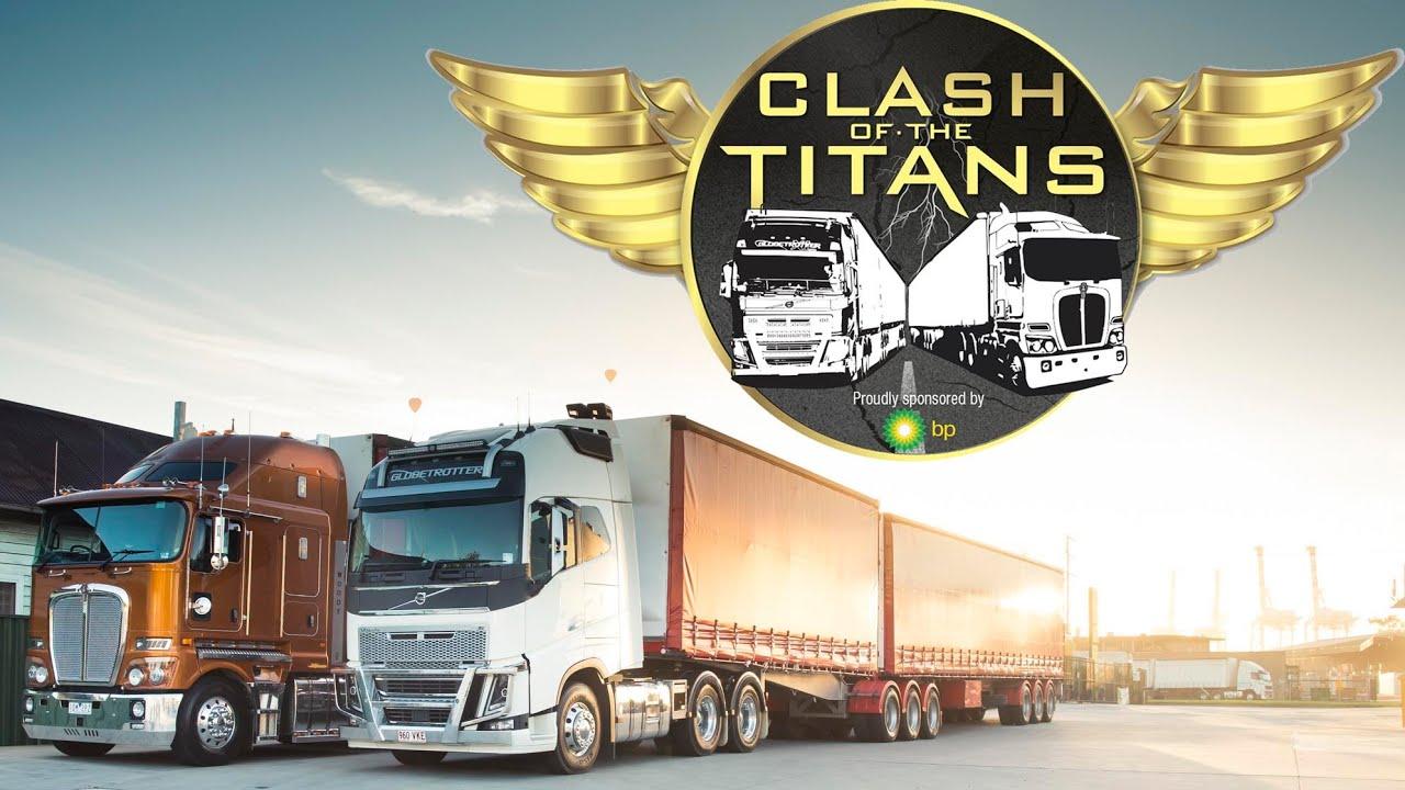 Kenworth vs Volvo - Clash of the Titans Part One