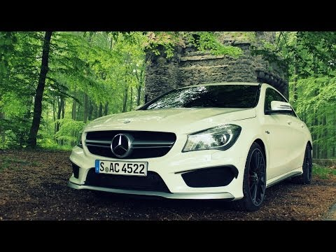 ' 2014 / 2015 Mercedes-Benz CLA 45 AMG PP ' Test Drive & Review - TheGetawayer