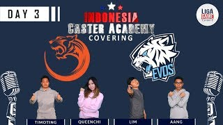 LIVE: Evos Esports VS Veteran - joinDOTA League Week 5 (BO2) - Indonesian Caster Academy Coverage