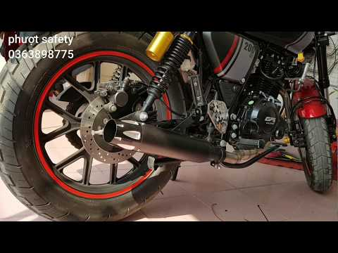 Review xe GPX Legand 200cc đậm chất Cafe racer | Phượt safety