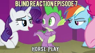 Blind Commentary   MLP FiM   Season 8 Episode 7 Horse Play