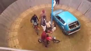 the most terrafic action in lucky irani circus.viral clips