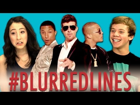 Teens React To Robin Thicke - Blurred Lines video