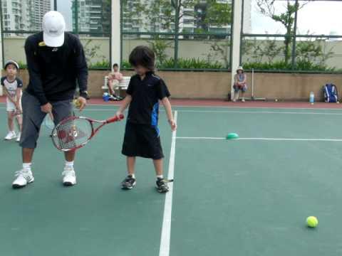 キッズテニス 練習20100606.avi