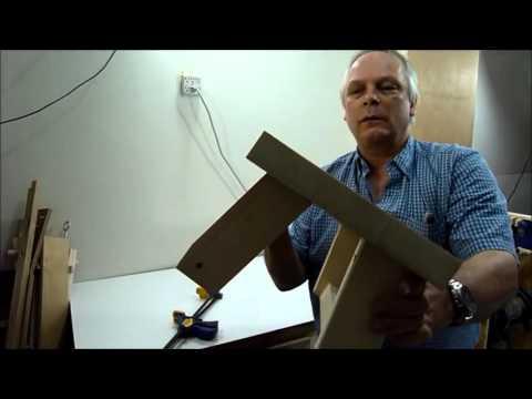 Werkbank Bauen Mit Klammern Aus Einer 2x4 |  Holzbearbeitung