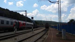 EMD G16 Kennedy ZS 661 depart from Dimitrovgrad ZS