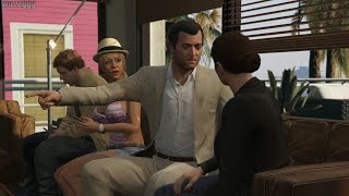 GTA 5 (PS4) - Mission #59 - Reuniting The Family [Gold Medal]