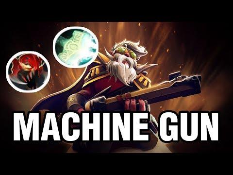 MACHINE GUN - Draskyl Plays Sniper - Dota 2