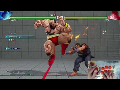 The 2nd volume of Street Fighter V trials for Zangief. Performed by Chupri with fightstick cam and inputs shown. This is available after the Ed patch (5/30/17). Comments and feedback are welcomed!...