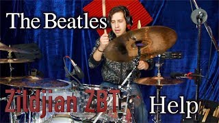 The Beatles - Help | Cymbals Zildjian Zbt | Hugo Zerecero