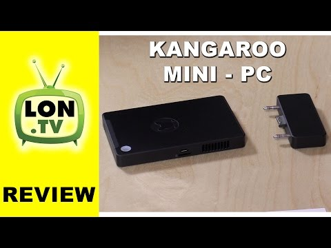 Kangaroo Mini PC Review - $99 Full Windows 10 Desktop PC Mobile Desktop Computer