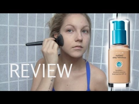 Covergirl Outlast Stay Fabulous Foundation Review/Demo ♡