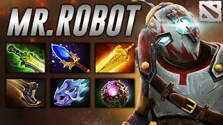 Evadin Robot Clockwerk Highlights Dota 2
