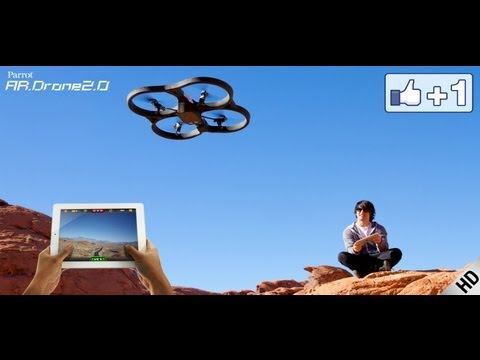Parrot AR.Drone 2.0 - Fly and Record in HD