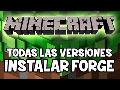Minecraft 1.7.2 1.8 - Como Instalar MINECRAFT FORGE API MOD - ESPAÑOL   INSTALAR MODS MINECRAFT 1.8