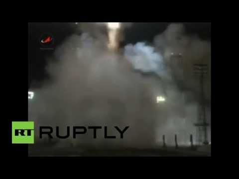 Proton-M rocket carrying Ekspress-AM6 satellite blasts off from Baikonur