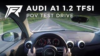 2014 Audi A1 Sportback 1.2 TFSI S-line - POV Test Drive