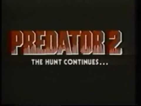 PREDATOR 2 (1991) Raro Teaser Trailer