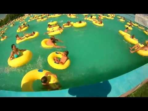 аквапарк в белой глине видео