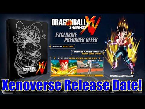 Dragon Ball Xenoverse EU (and NA?) Release Date/SSJ4 Vegeta AND GOGETA (Preorder Bonuses!)
