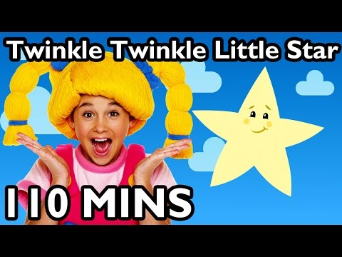 Twinkle Twinkle Little Star | Nursery Rhyme Collection From Mother Goose Club Playlist! video