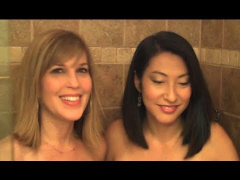 2 Hot Girls in the Shower Behind the Scenes
