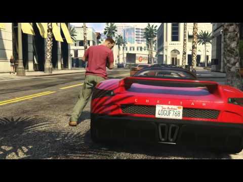 GTA V Online - Primer tráiler con gameplay [Español]