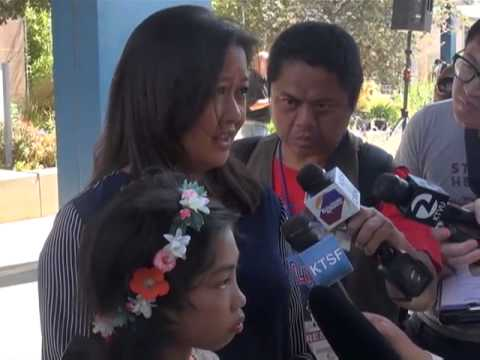 Emotional meeting for Fil-Am bone marrow recipient and life saving donor