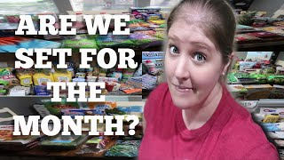 LARGE FAMILY MONTHLY GROCERY HAUL